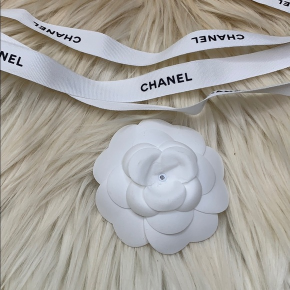 CHANEL Accessories - Authetic Chanel ribbon & flower